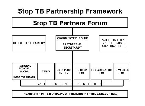 Fig.1 Global Partnership to Stop TB